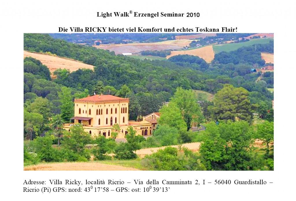 Villa Ricky in der Toscana